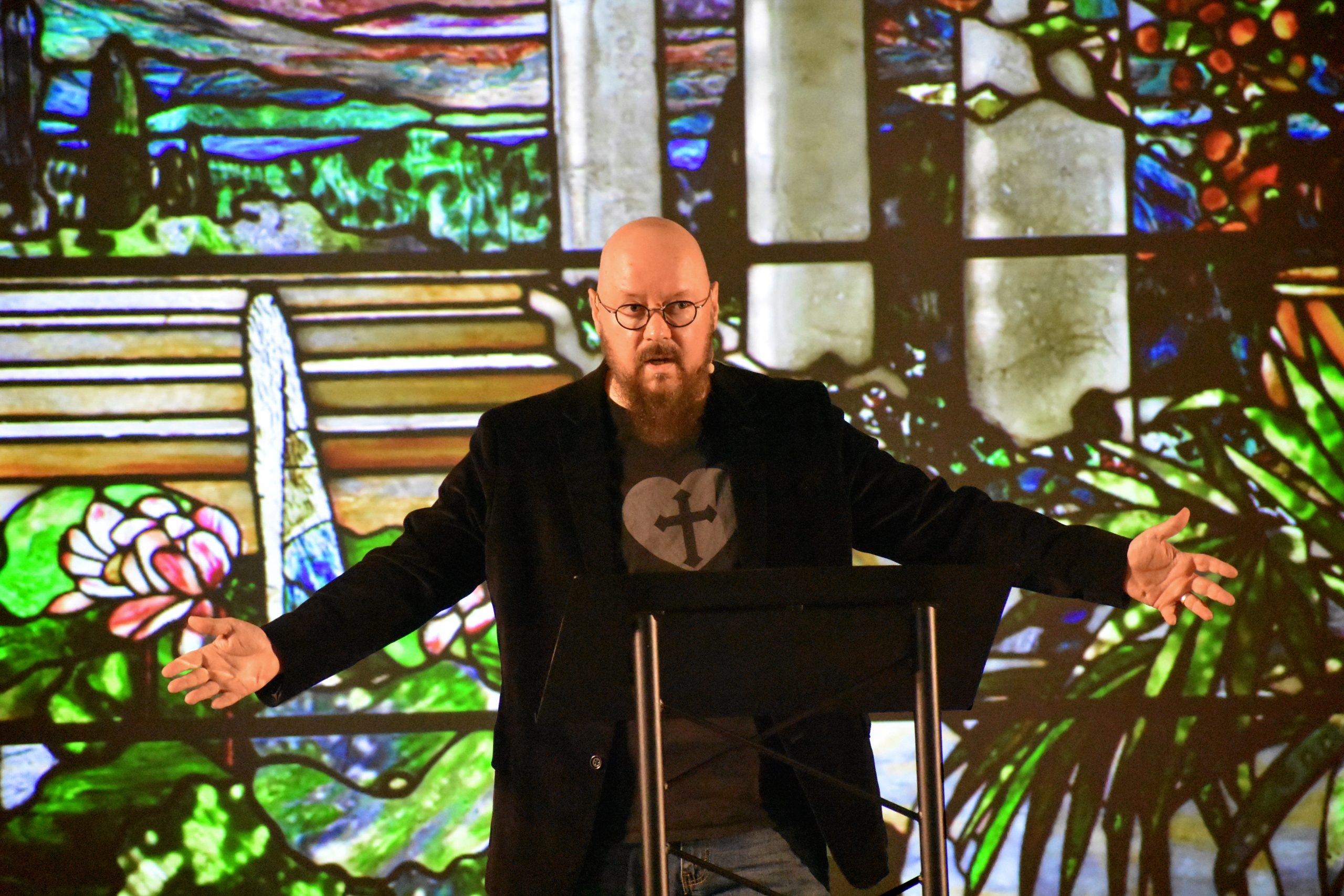 Frank Preaching 2020 Window